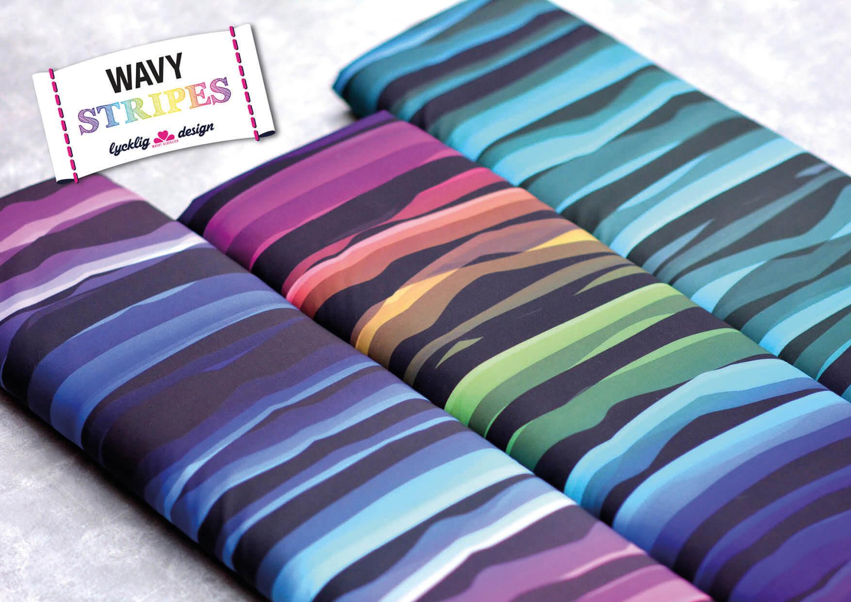 Wavy Stripes Softshell